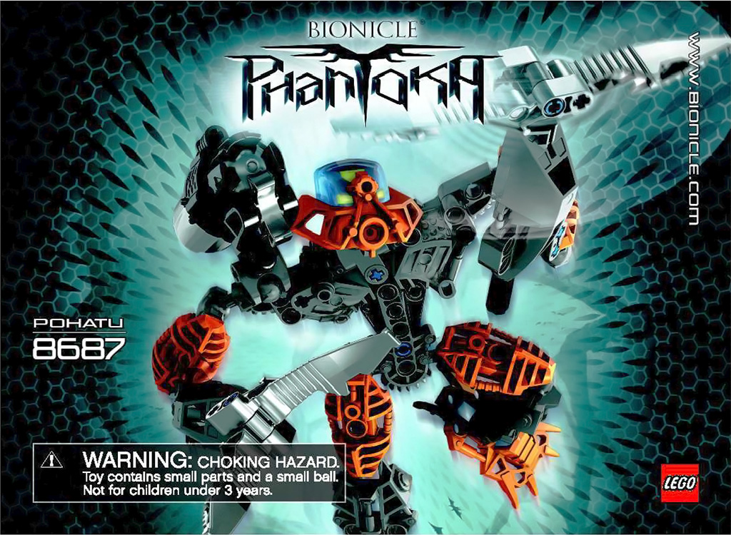 Toa Pohatu Instruction